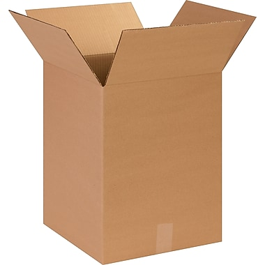14in.(L) x 14in.(W) x 18in.(H)- Staples Corrugated Shipping Boxes