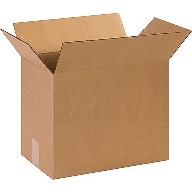 14-1/2in.(L) x 8-3/4in.(W) x 12in.(H)- Staples Corrugated Shipping Boxes