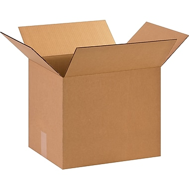 15in.(L) x 12in.(W) x 12in.(H)- Staples Corrugated Shipping Boxes