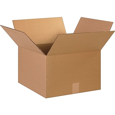 15in.(L) x 15in.(W) x 10in.(H)- Staples Corrugated Shipping Boxes