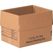 "16""x12""x12"" Partners Brand Deluxe Packing Boxes, 25/Each (161212DPB)"