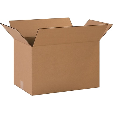20in.(L) x 12in.(W) x 12in.(H)- Staples Corrugated Shipping Boxes
