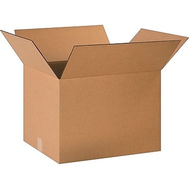 20in.(L) x 16in.(W) x 14in.(H)- Staples  Corrugated Shipping Boxes