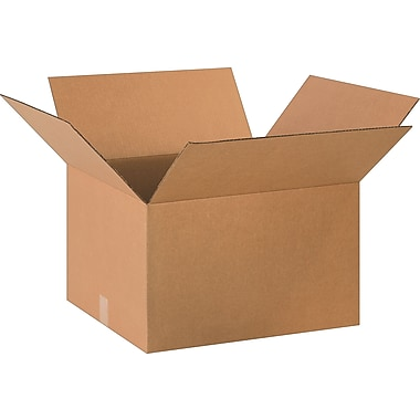 20in.(L) x 18in.(W) x 12in.(H)- Staples Corrugated Shipping Boxes, 10/Bundle
