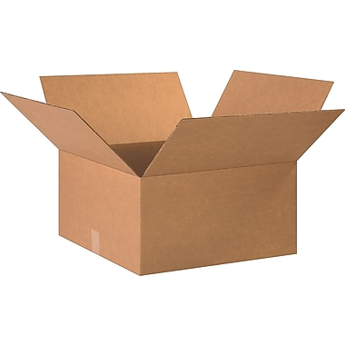 20in.(L) x 20in.(W) x 10in.(H)- Staples Corrugated Shipping Boxes