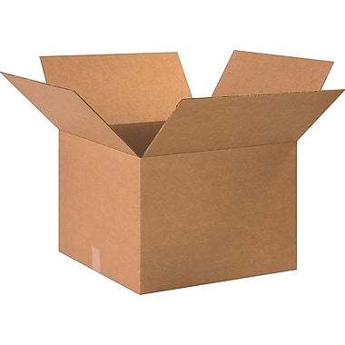 20in.(L) x 20in.(W) x 14in.(H)- Staples Corrugated Shipping Boxes