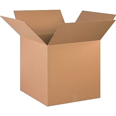 20in.(L) x 20in.(W) x 20in.(H)- Staples Corrugated Shipping Boxes