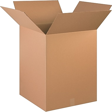 20in.(L) x 20in.(W) x 26in.(H)- Staples Corrugated Shipping Boxes