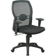 Office Star Mid-Back Mesh Manager's Chair, Black