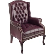 Office Star™ Traditional Queen Ann High-Back Guest Chair