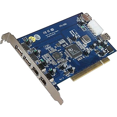 Belkin Hi-Speed USB 2.0 and FireWire PCI Card (3-USB 2.0 and 3-FireWire ports)