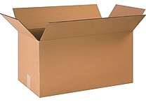 24''x12''x12'' Staples Corrugated Shipping Box, 20/Bundle (PRA0127)