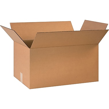 24in.(L) x 14in.(W) x 12in.(H)- Staples Corrugated Shipping Boxes