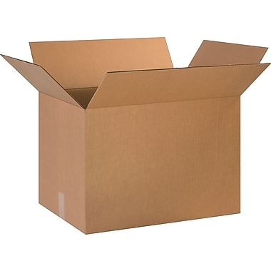 24in.(L) x 16in.(W) x 16in.(H)- Staples Corrugated Shipping Boxes