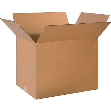 24in.(L) x 18in.(W) x 18in.(H)- Staples Corrugated Shipping Boxes