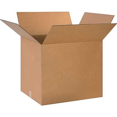 24in.(L) x 20in.(W) x 20in.(H)- Staples Corrugated Shipping Boxes
