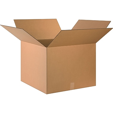 24in.(L) x 24in.(W) x 18in.(H)- Staples Corrugated Shipping Boxes