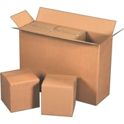 25-1/8(L) x 8-3/8(W) x 17-1/2(H)- Staples® Corrugated Shipping Boxes, 15/Bundle