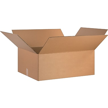30in.(L) x 24in.(W) x 12in.(H) - Staples Corrugated Shipping