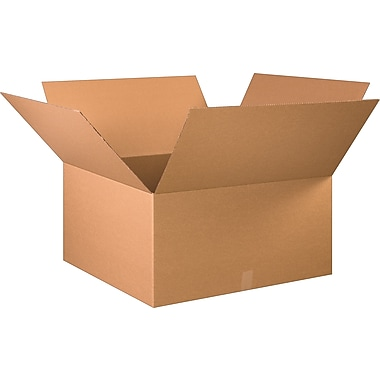 30in.(L) x 30in.(W) x 16in.(H) - Staples Corrugated Shipping