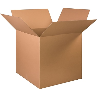 32in.(L) x 32in.(W) x 32in.(H) - Staples Corrugated Shipping Boxes