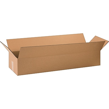34in.(L) x 10in.(W) x 6in.(H) - Staples Corrugated Shipping, 10/Bundle