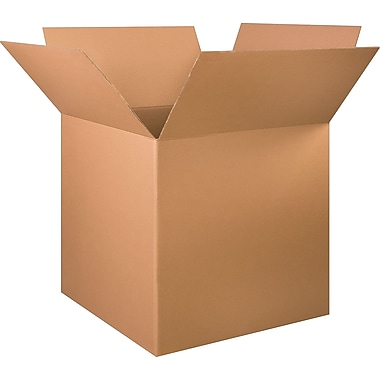 34in.(L) x 34in.(W) x 34in.(H) - Staples Corrugated Shipping