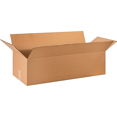 36in.(L) x 14in.(W) x 10in.(H) - Staples Corrugated Shipping Boxes, 15/Bundle