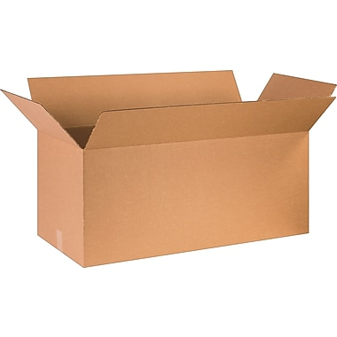 36in.(L) x 16in.(W) x 16in.(H) - Staples Corrugated Shipping Boxes
