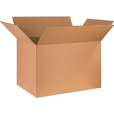36in.(L) x 24in.(W) x 24in.(H) - Staples Corrugated Shipping Boxes, 5/Bundle