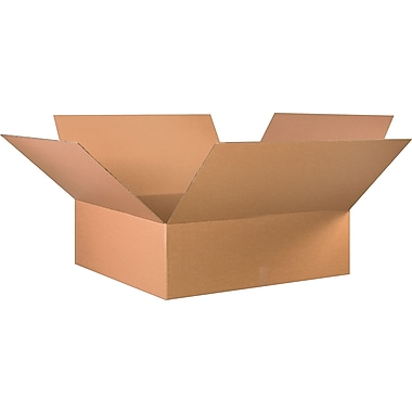 36in.(L) x 36in.(W) x 12in.(H) - Staples Corrugated Shipping Boxes, 10/Bundle
