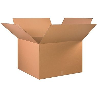 36in.(L) x 36in.(W) x 24in.(H) - Staples Corrugated Shipping Boxes