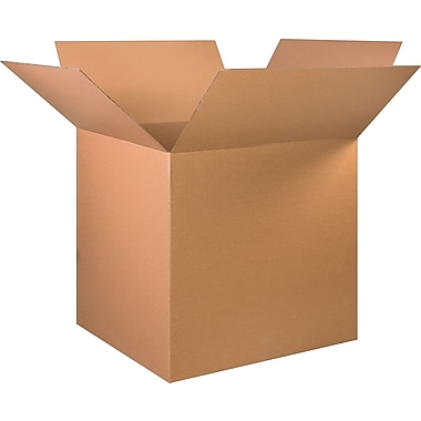 36in.(L) x 36in.(W) x 36in.(H) - Staples Corrugated Shipping Boxes