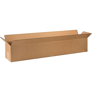 48in.(L) x 8in.(W) x 8in.(H) - Staples Corrugated Shipping Boxes