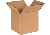 6'(L) x 6'(W) x 6'(H)- Staples® Corrugated Shipping Boxes, 25/Bundle