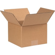 7(L) x 7(W) x5(H) - Staples® Corrugated Shipping Boxes, 25/Bundle