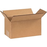 "08""x4""x4"" Partners Brand Corrugated Boxes, 25/Bundle (844)"