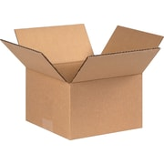8(L) x 8(W) x 5(H) - Staples® Corrugated Shipping Boxes, 25/Bundle