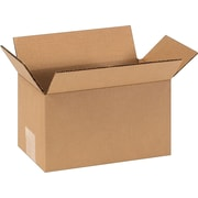 "Staples® Corrugated Shipping Boxes - 9"" Length"