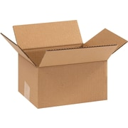 9(L) x 7(W) x 5(H) - Staples® Corrugated Shipping Boxes, 25/Bundle