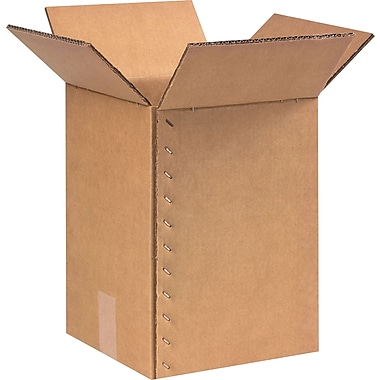 9in.(L) x 9in.(W) x 13in.(H)- Staples Heavy-Duty Double-wall Boxes