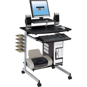 TechniMobili® Space Saving Computer Desk, Graphite