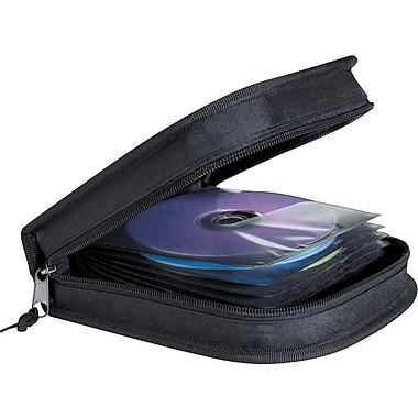Staples 32 CD Wallet, Black (33288)