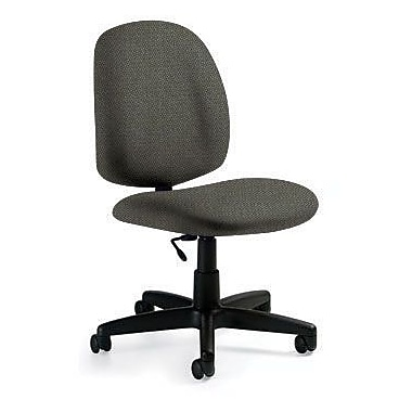 Global Custom Medium Back Armless Task Chair, Sea Side