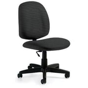 Global Custom Med Back Armless Task Chair, Thunderstorm