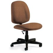 Global Custom Med Back Armless Task Chair, Acorn