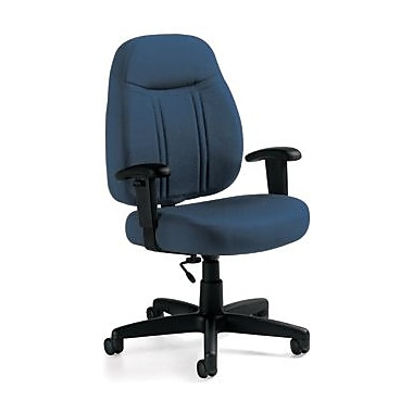 Global Custom High-Back Task Chair, Premium Grade, Admiral