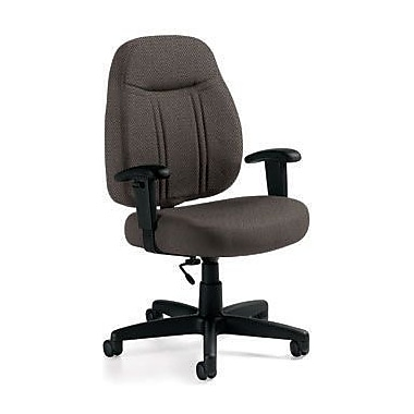 Global Custom High-Back Task Chair, Premium Grade, Fawn