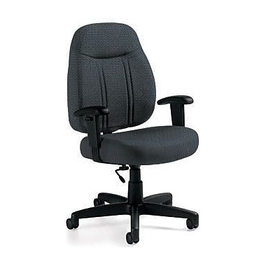 Global Custom High-Back Task Chair, Premium Grade, Marine