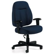 Global Custom High-Back Task Chair, Premium Grade, Ocean